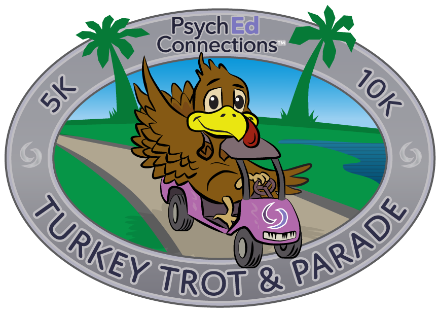 Psych Ed Connections Thanksgiving Day 10k/5k Turkey Trot & Parade 2016